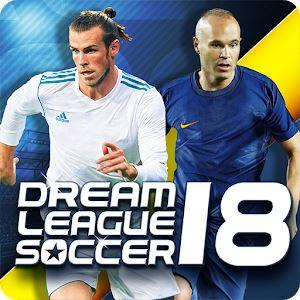 تحميل لعبة دريم ليج سوكر 2018 للاندرويد برابط مباشر - 2018 Dream League Soccer