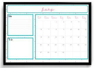 Calendari imprimible juny