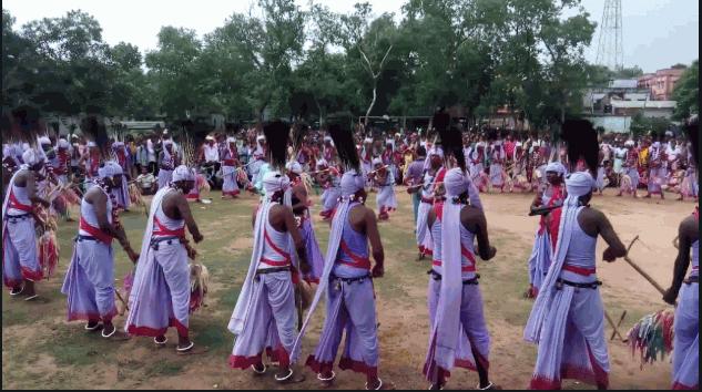 Santali Dasai dance