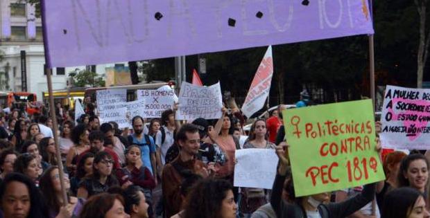 Aprovada PEC que pune mulheres vítimas de estupro?