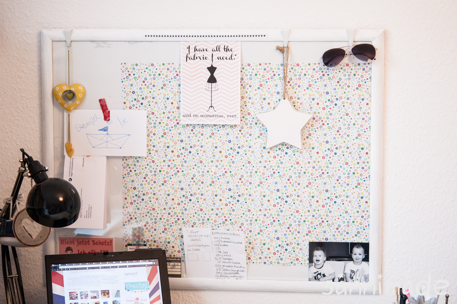 pin diy pinnwand aus ikea topfuntersetzer tags on pinterest. Black Bedroom Furniture Sets. Home Design Ideas