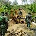 Operasional Escavator Sarana Alat Berat TMMD