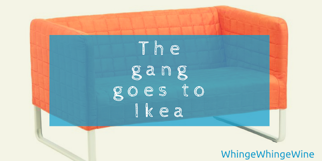 The gang goes to Ikea: A lovely family day out?