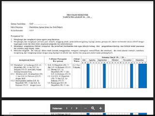 Program Semester PAI dan BP SMP Kelas VII (7) Kurikulum 2013 - http://www.librarypendidikan.com/
