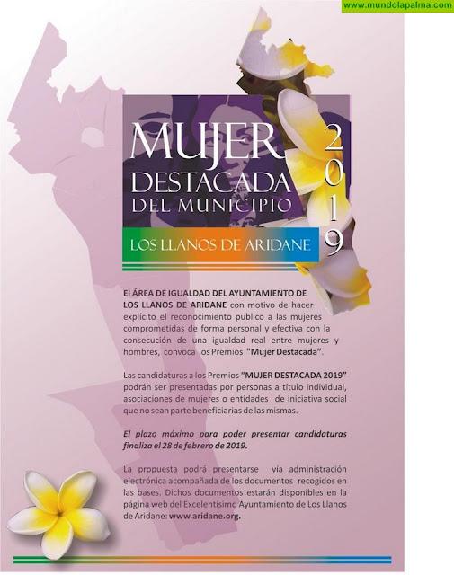El Ayuntamiento de Los LLanos de Aridane rinde  homenaje a las Mujeres Destacadas del municipio