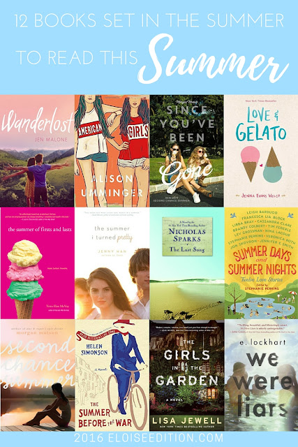 12 Books Set in the Summer to Read This Summer by Eloise Edition