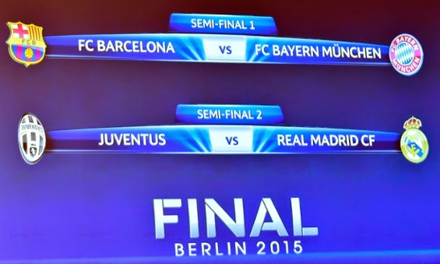 Champions League 2014-2015 Semi Final Analysis