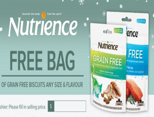 Nutrience Free Grain Free Pet Treats