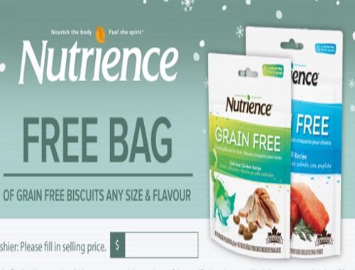 Nutrience Free Grain Free Pet Treats
