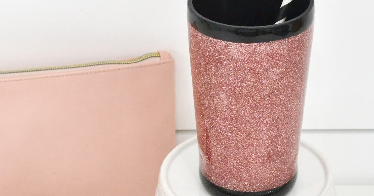 Aly Dosdall How To Make A Glitter Tumbler With The Spin