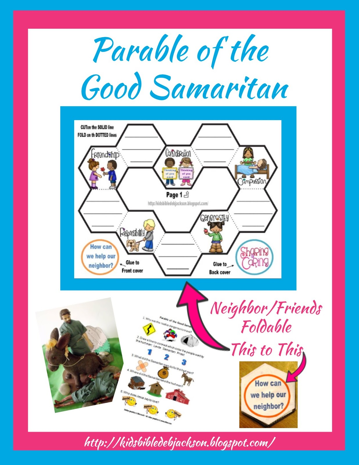 http://kidsbibledebjackson.blogspot.com/2014/10/parable-of-good-samaritan.html