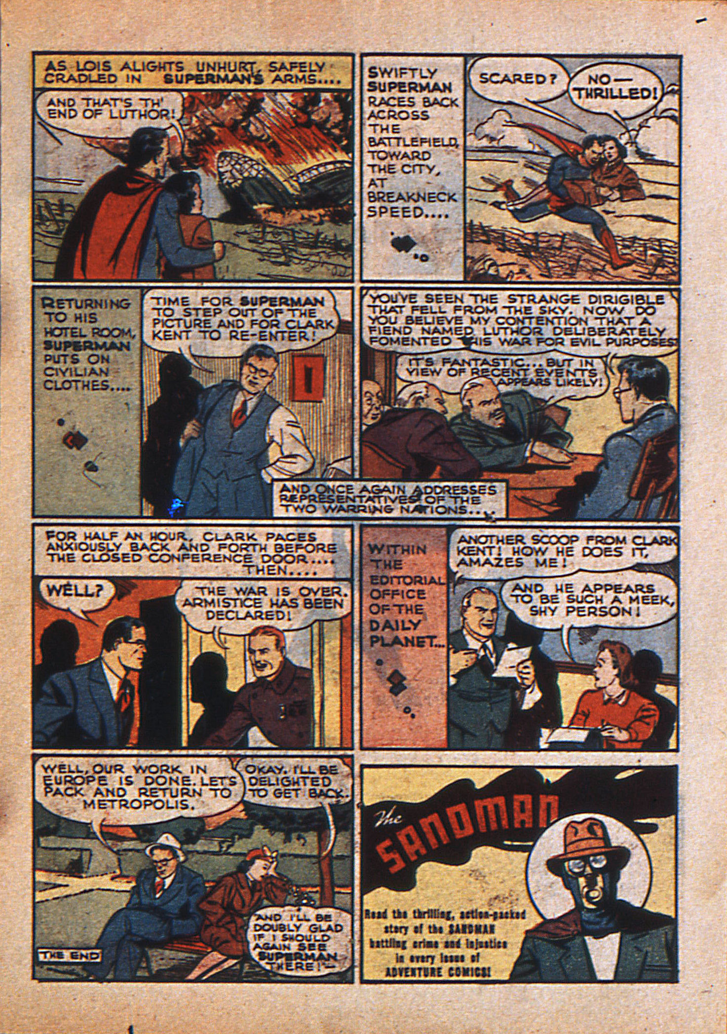 Read online Action Comics (1938) comic -  Issue #23 - 16