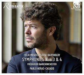 Mendelssohn Symphonies 3 & 4 - Pablo Heras-Casado