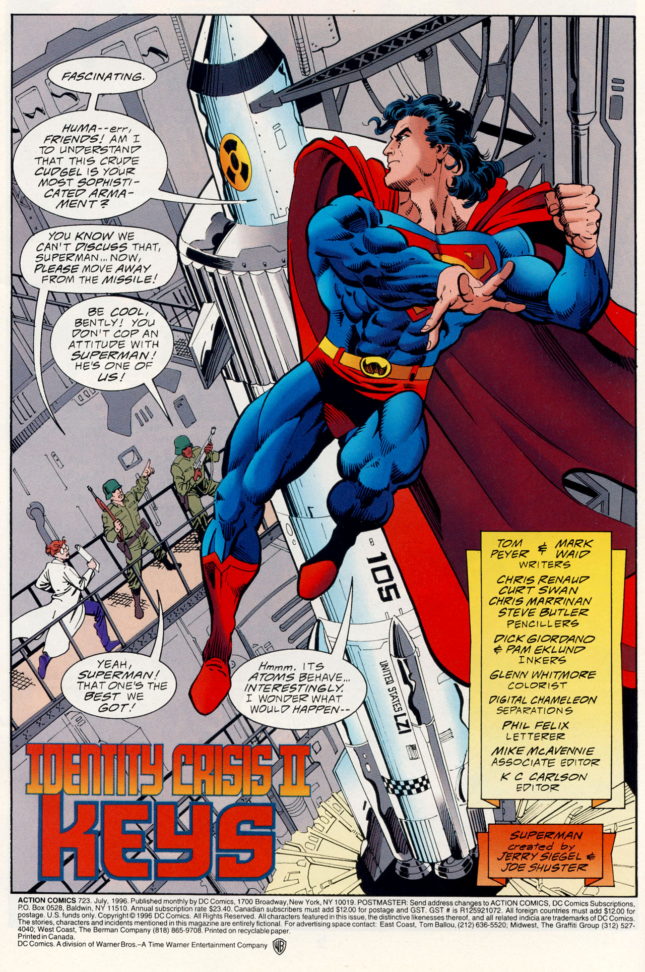 Read online Action Comics (1938) comic -  Issue #723 - 3