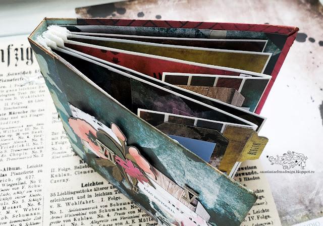 @nastyalena #scrapbooking #album