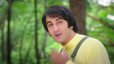 ranbir kapoor back hairstyle in sanju