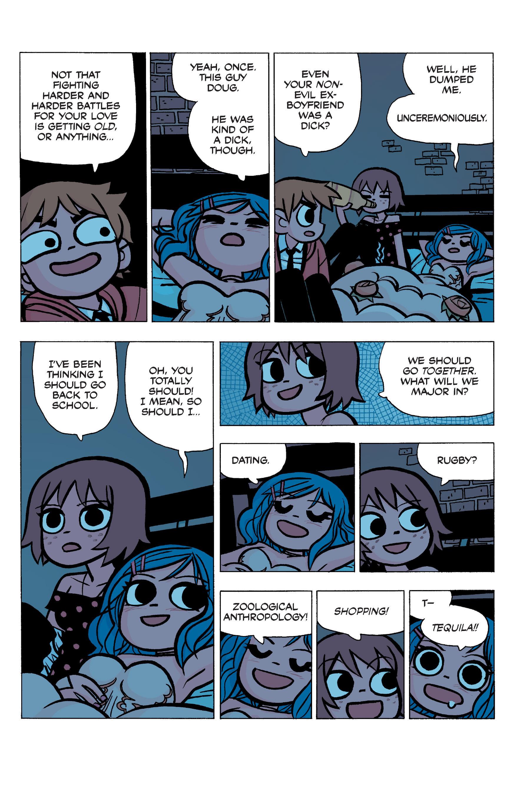 Read online Scott Pilgrim comic -  Issue #5 - 95