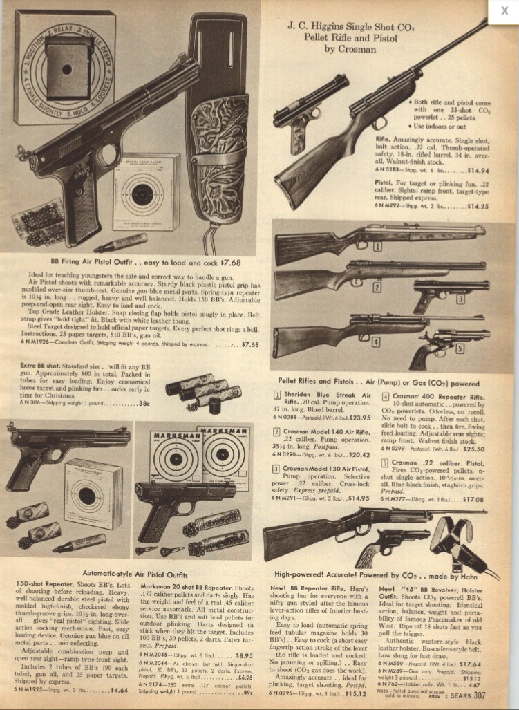 canada airgun freak: Vintage AirGun catalog photos