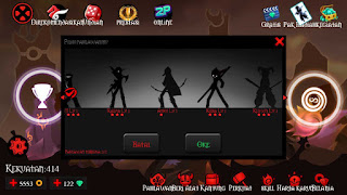 Cheat League of stickman pahlawan unlocked