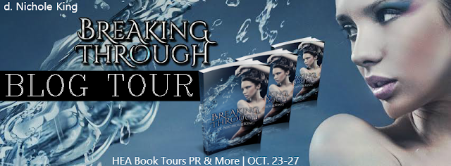 Breaking Through, Blog Tour, Paranormal, Romance