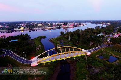Desa Ekowisata Mempura Wisata Siak Jembatan Mempura