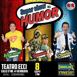 SUPER SHOW DEL HUMOR 2017 2