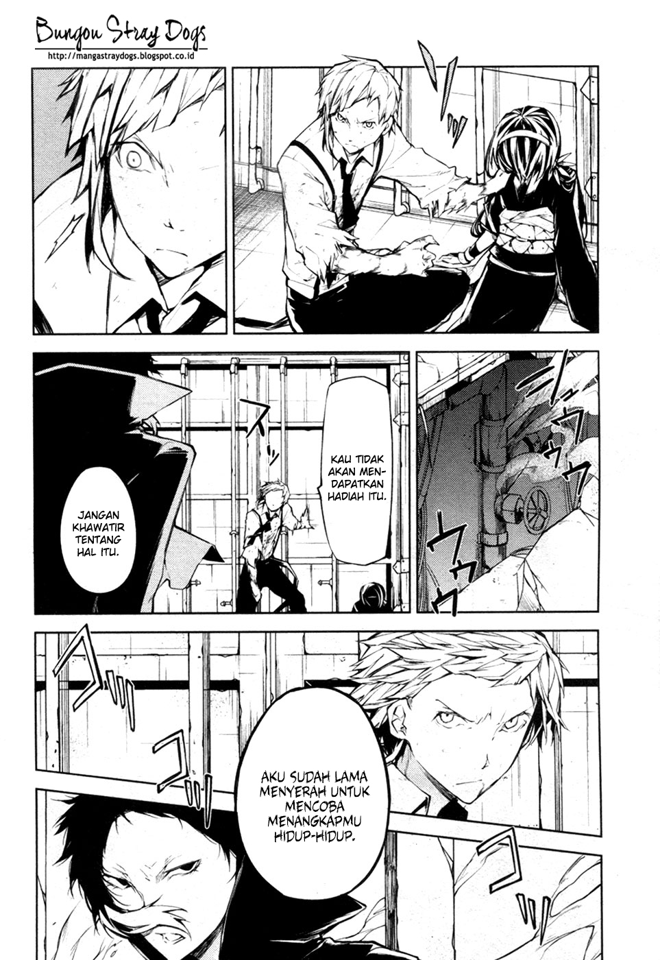 Bungou Stray Dogs Chapter 12-3