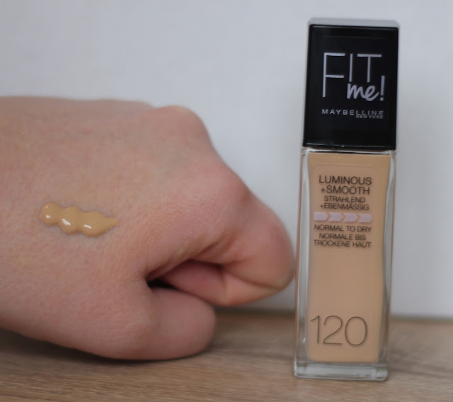 Maybelline Fit Me Foundation in Classic Ivory