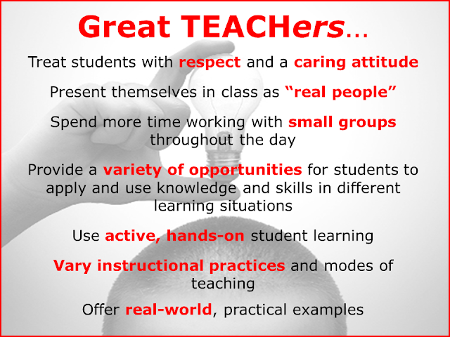 Great Teachers Treat Students With Respect