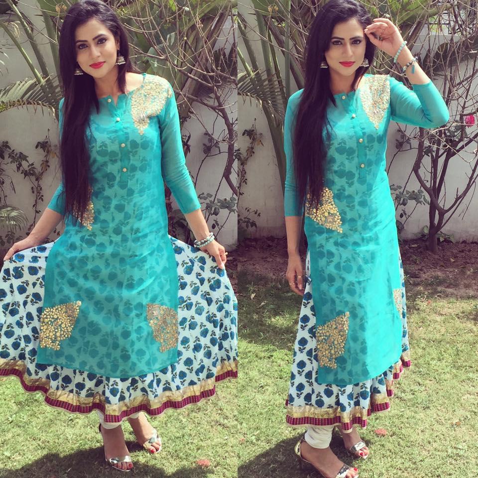 Amazing World Beautiful Punjabi Suit Sexy Cute Girls-2926