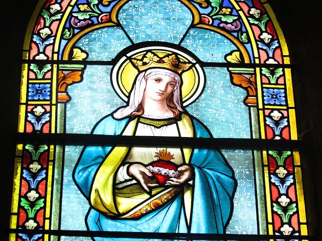 vierge marie église de saint etienne le molard ©défrade