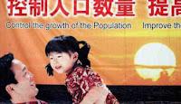 Informasi Depopulasi Manusia: Spanduk perintah 1 anak di Cina