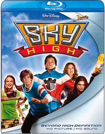 Sky High 2005 Dual Audio Hindi 720p BluRay 800mb