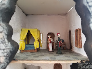 Bunratty-Castle-Diorama-Lord's-Bedroom