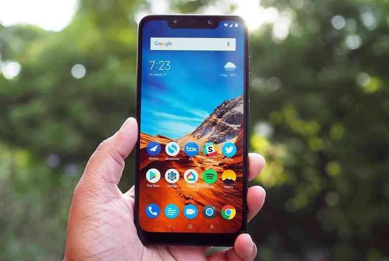 The Xiaomi POCO F1 Front