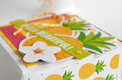 """Fun in the Sun"" milk carton treat boxes by @wendysue for @doodlebugdesign"