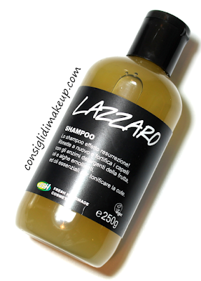 Review: Shampoo Lazzaro - Lush