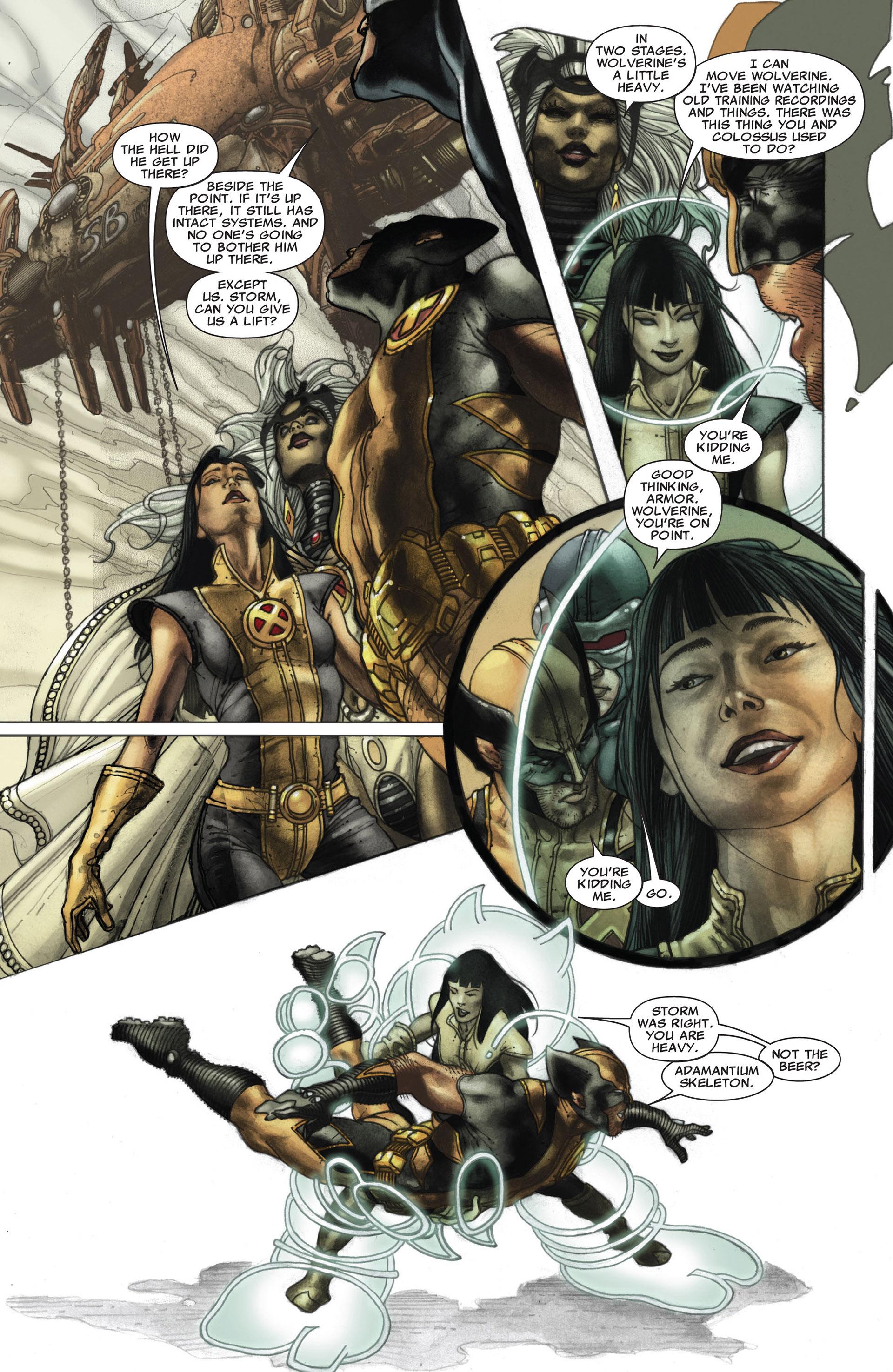 Read online Astonishing X-Men (2004) comic -  Issue #26 - 8