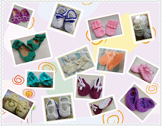 Sweet Nothings Crochet baby booties round up