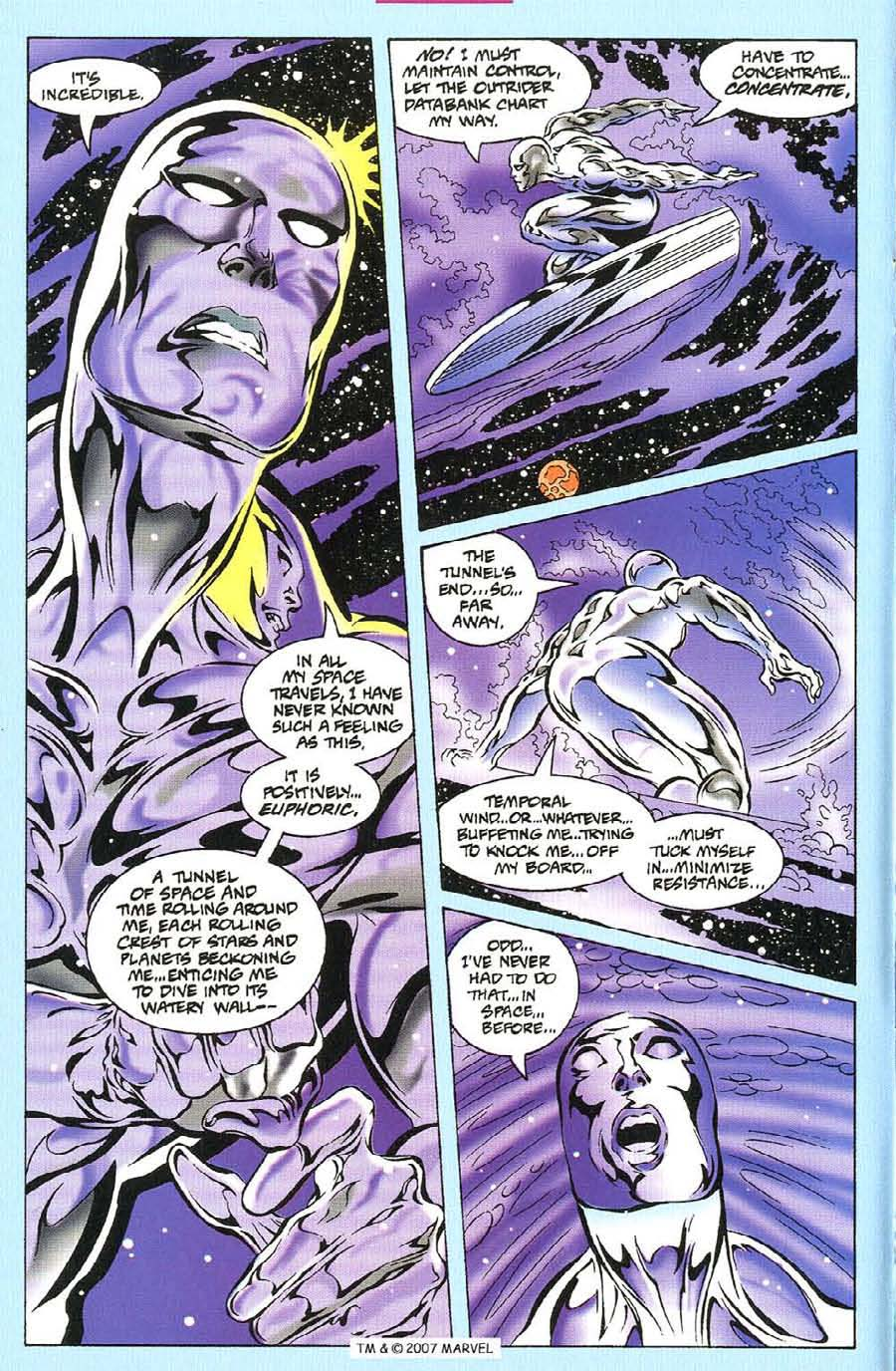 Silver Surfer (1987) Issue #114 #122 - English 4