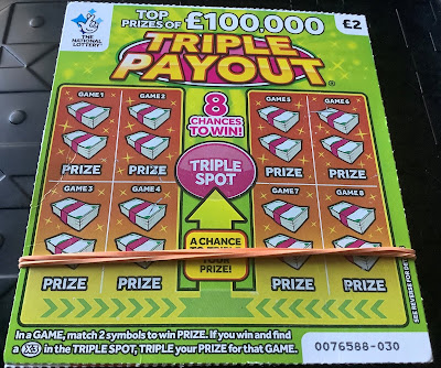 £2 Triple Payout Scratchcard