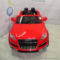 Mobil Mainan Aki Pliko Q7 Audi 2XL Kendali Jauh Bluetooth 2.4GHz Red
