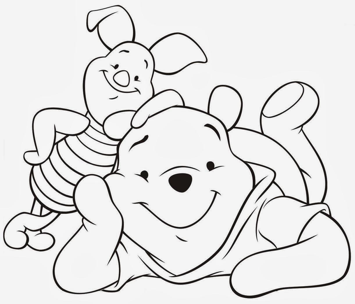 Desenhos De Colorir Ursinho Puff Ursinho Pooh Disney Colorir
