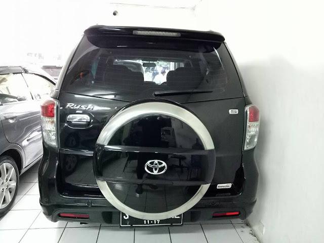 Toyota Rush S tahun 2012 bekas