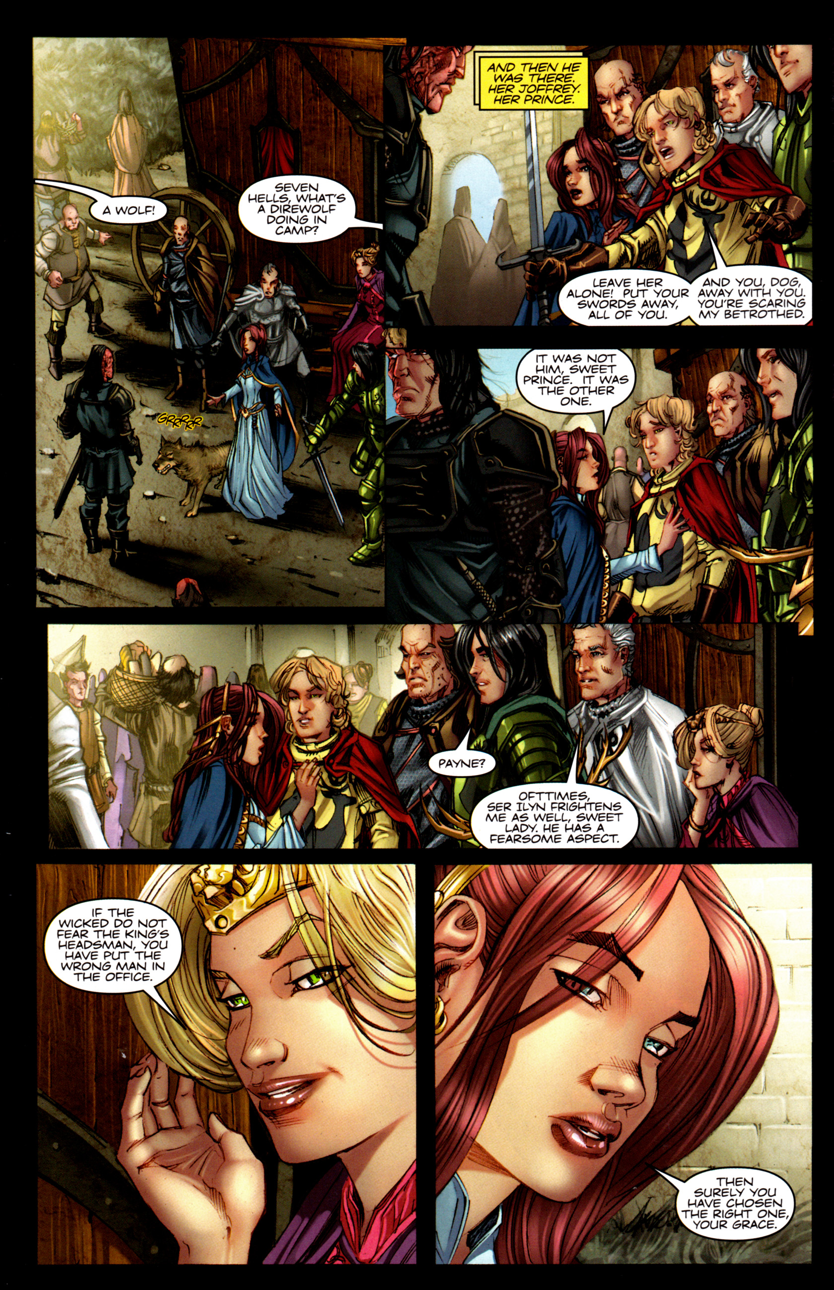 Read online A Game Of Thrones comic -  Issue #5 - 6