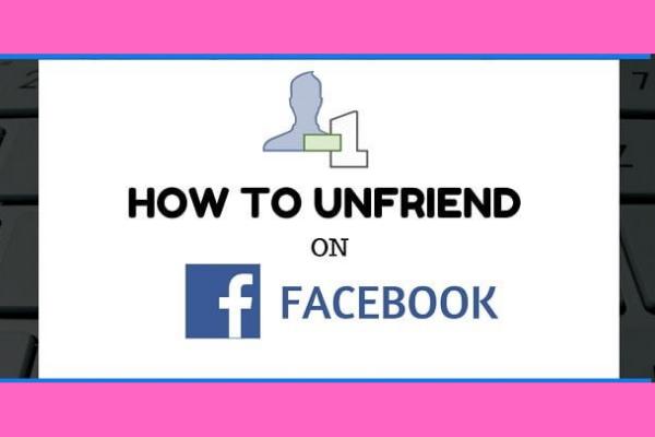Unfriending Someone On Facebook