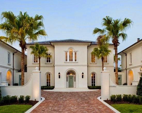 Fachadas de casas mediterranea i for Fachadas de casas clasicas modernas