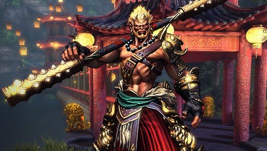 DOT 2 SUN WUKONG The Monkey King! New Hero Reveal