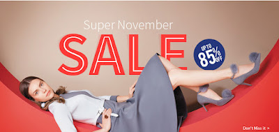 "Sammydress ""Super November"" and ""Black Friday"" 