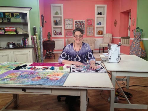 Blue Moon River Shooting Quilting Arts Tv Series 1400